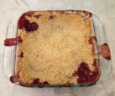 Peach & Blackberry Crisp