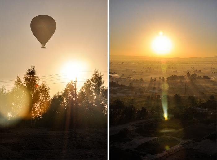 Ballonvaart Luxor Egypte - Binti Home