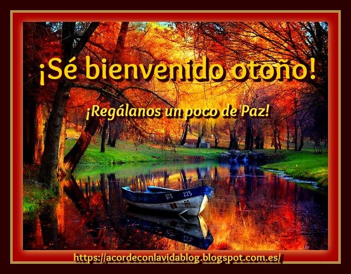 * ¡El otoño ya está aquí! *