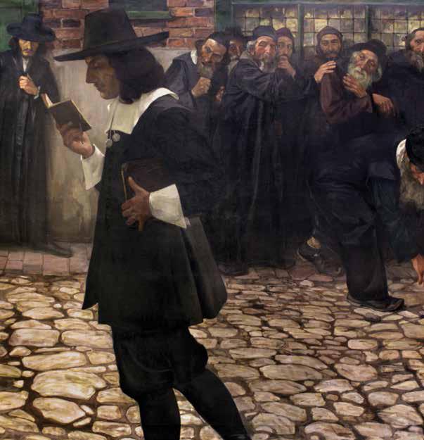 Samuel Hirszenberg, Spinoza wyklêty (Excommunicated Spinoza)