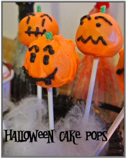 Diy Halloween Cake Pops Diy Halloween Cake Pops