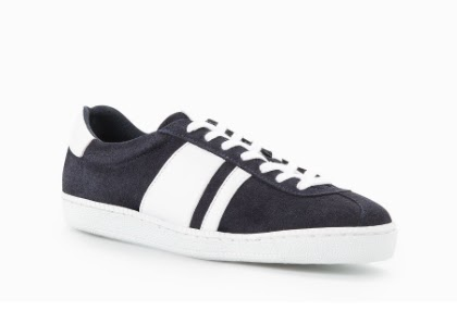 Mango Panel Suede Sneakers