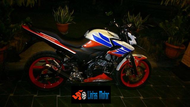 Foto Honda CB150R Modifikasi StreetFire Terbaru 2014
