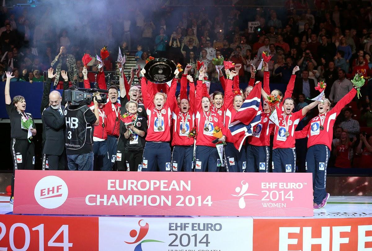 """BALONMANO (Europeo femenino 2014) - Las """"guerreras"""" no pudieron impedir que Noruega vuelva a ser campeona de Europa"""