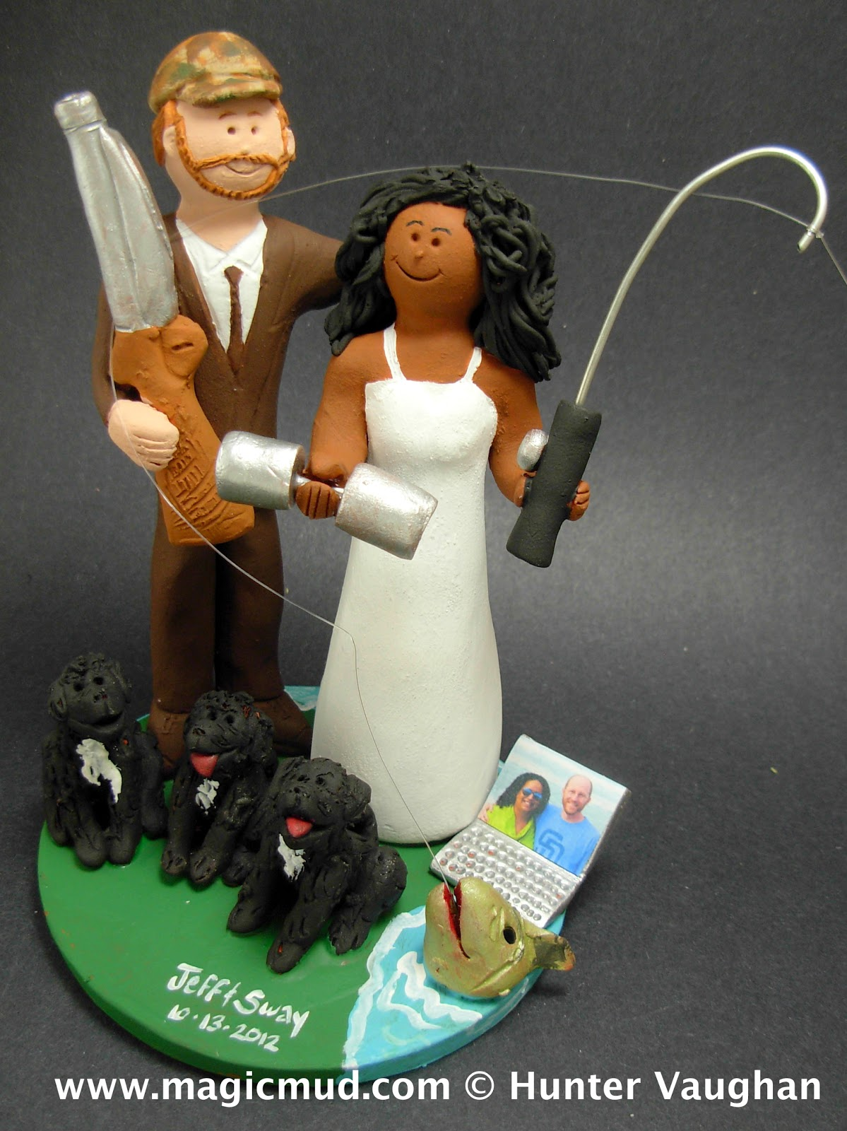 irish wedding cake toppers