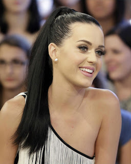 Katy Perry Ponytail Hairstyles