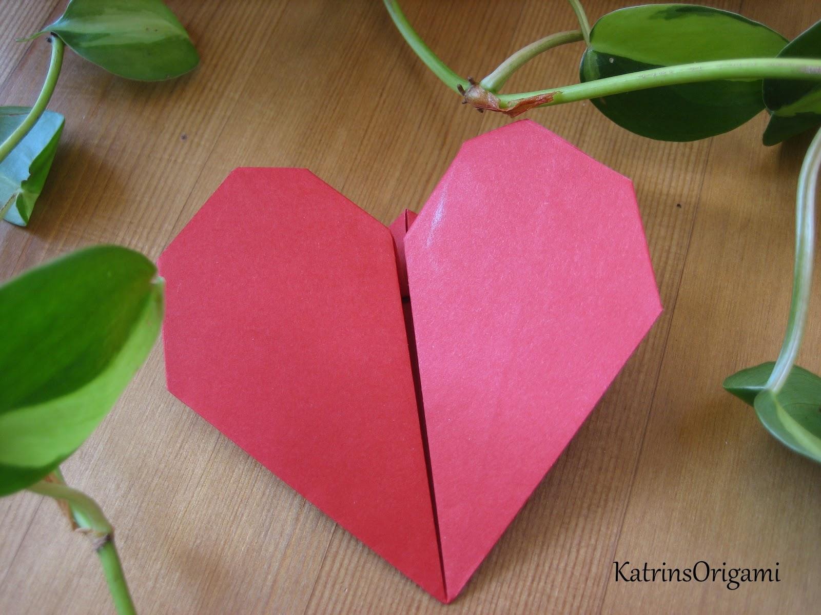origami die kunst des papierfaltens das schlagende herz. Black Bedroom Furniture Sets. Home Design Ideas