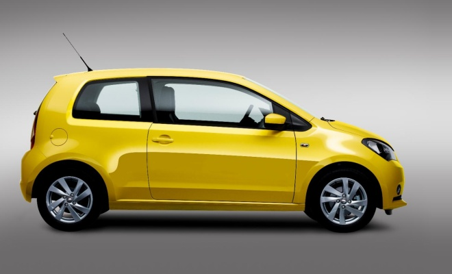 Seat Mii from the side