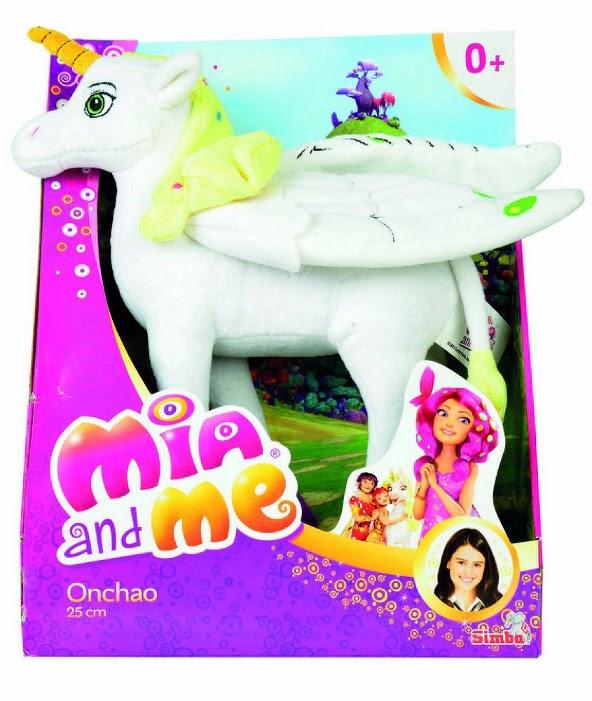 TOYS - MIA AND ME - Peluche Unicornio Onchao - 25 cm  Juguete Oficial | Simba Toys | A partir de 12 meses