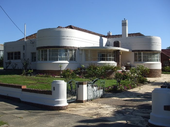 Taccola streamline moderne house in bendigo - Deco moderne flat ...