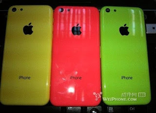 Leaked photos of a back cover for an upcoming low-cost iPhone 5