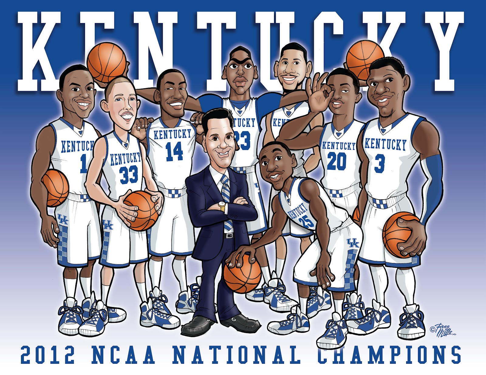 UK basketball 2012 champs