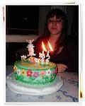 Torta 22 años de Nadia