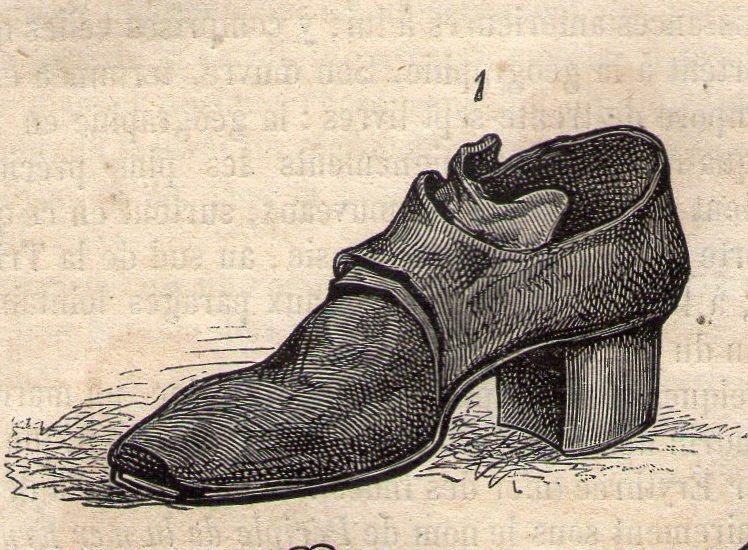 Top Chroniques du temps passé: Les chaussures. LH31