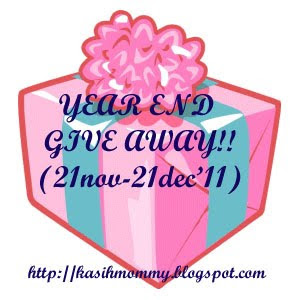 Year End Give Away!!!!!