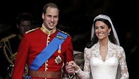 Foto foto Pernikahan Pangeran William dengan Catherine Middleton