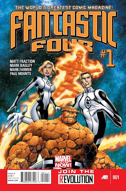 Fantastic Four (Mavel Now) Comics gratis descarga español
