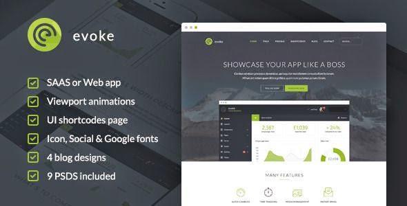 Evoke - HTML Template