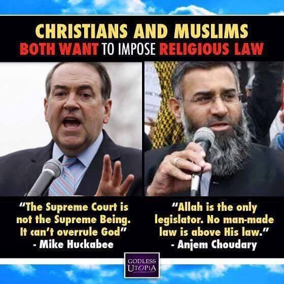 christianity and islam are they really different It's true there are many different 'forms' of christianity but the bible teaches there is only really one form of christianity  islam & judaism.