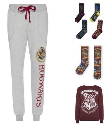 Pantalón, calcetines y sudadera Harry Potter