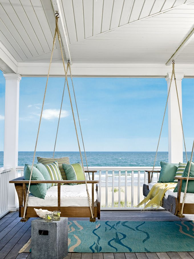 Sherri's Jubilee: I have always loved porch swings!