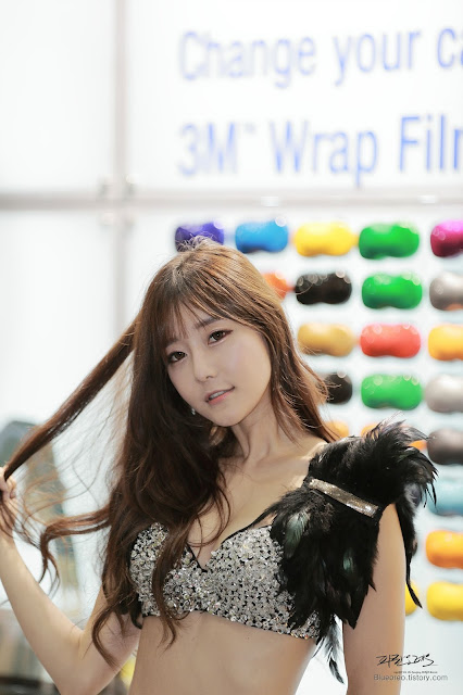 4 Choi Seul Ki - 2015 Seoul Auto Salon - very cute asian girl-girlcute4u.blogspot.com
