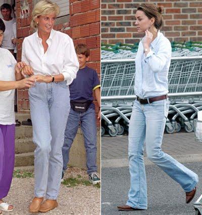Кейт и Даяна по дънки