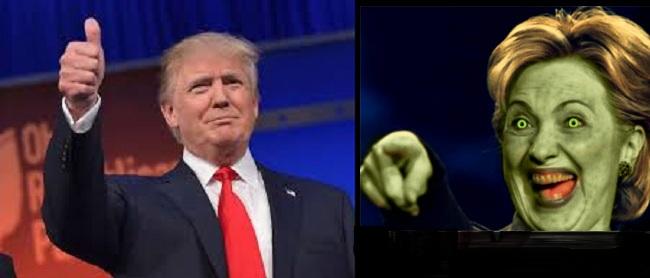 Ντόναλντ Τραμπ : «Η Χίλαρι Κλίντον είναι ο διάβολος»