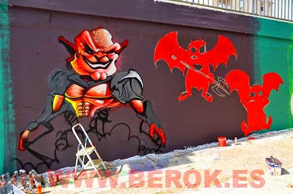 Demonios de Berok y Jolich en proceso
