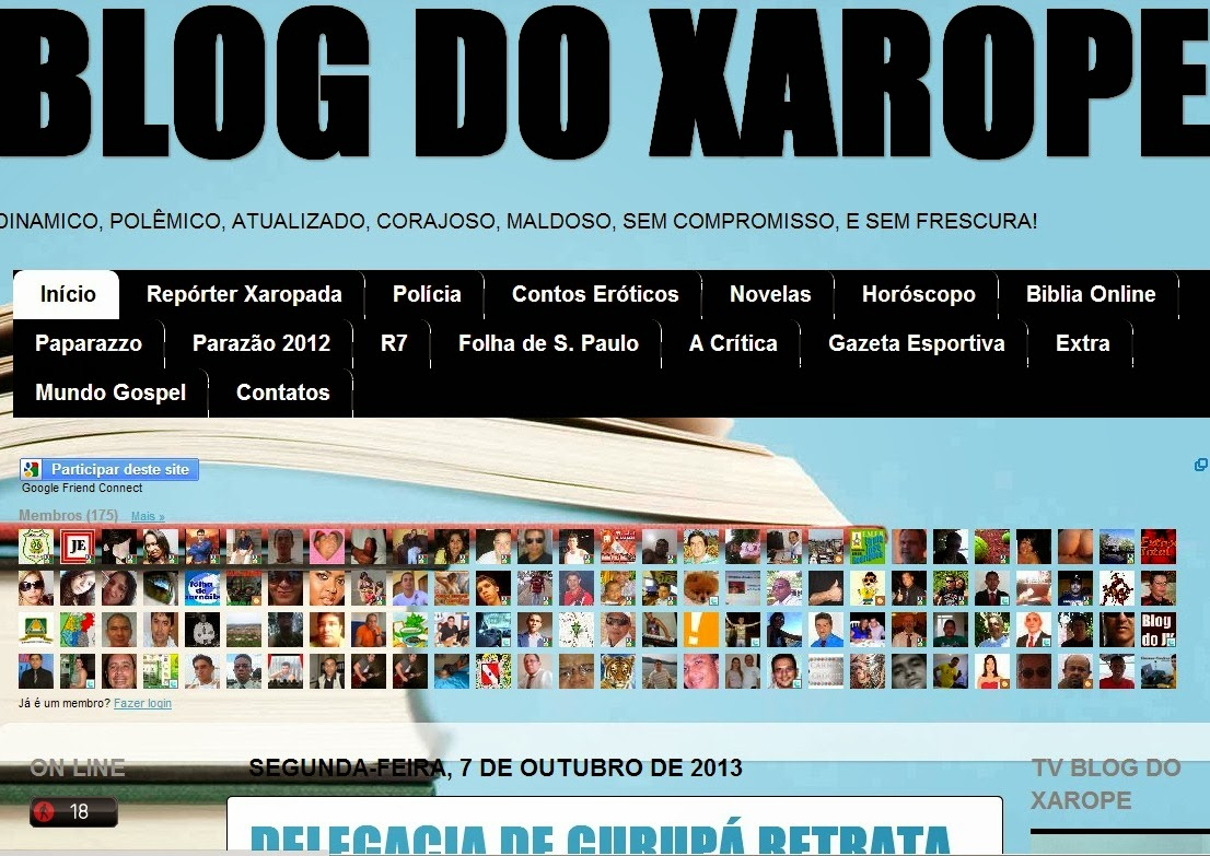 Blog do Xarope