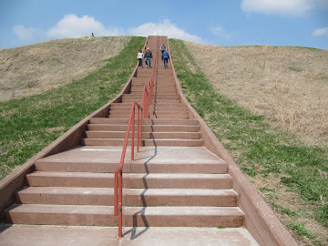 Cahokia Mounds 31 mars