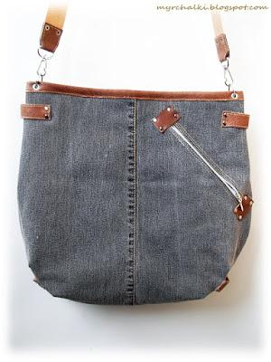 сумка из джинса своими руками
