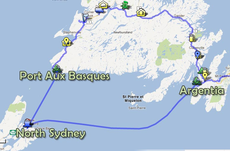 Rencontre east newfoundland ferry schedule