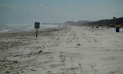 Open Spaces: Florida Beach Front. Crescent Beach near St. Augustine, . (pc )