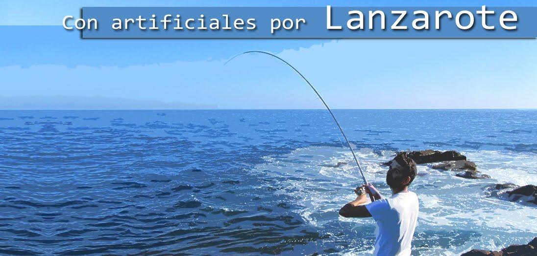Con artificiales por Lanzarote
