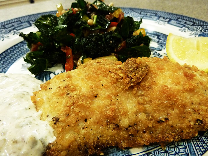 Fluffy chix cook healthy oven fried fish rocks low carb for Broil fish in oven