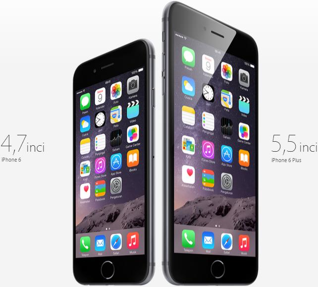 Daftar Harga iPhone 6 dan iPhone 6 Plus Terbaru