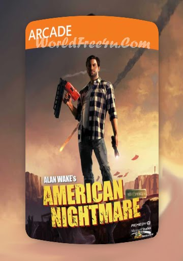 Cover Of Alan Wakes American Nightmare Full Latest Version PC Game Free Download Mediafire Links At worldfree4u.com