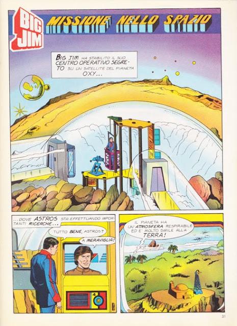 Fumetto Big Jim Mondadori