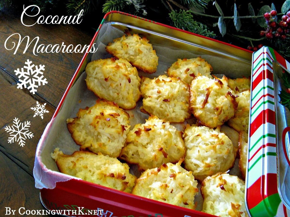Coconut Macaroons {An Easy and Tasty Recipe using Eagle Brand ...