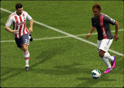 Download Patch 3.7 PES 2013 Menghadirkan Liga MX