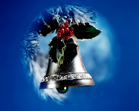 Santa Claus Wallpaper bell