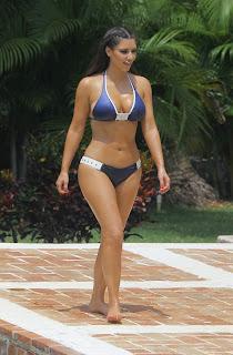 Kim Kardashian Bikini Pics, Kim Kardashian Dominican Republic Pics