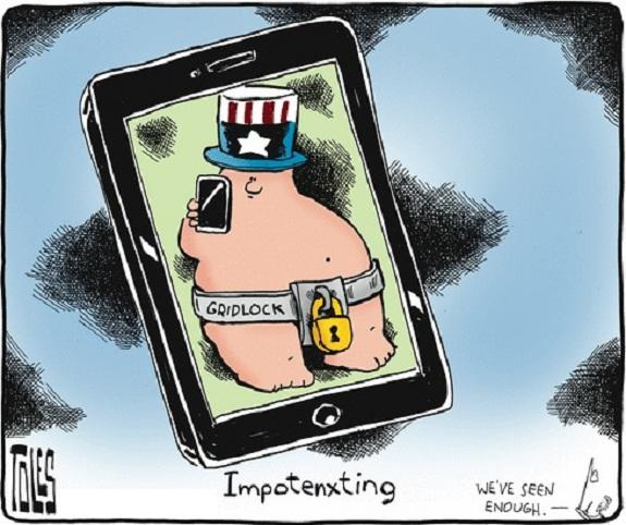 Toles: Impotenxting.