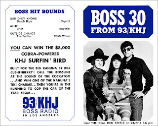 KHJ Boss 30 No. 53 - The Real Don Steele with Sonny & Cher