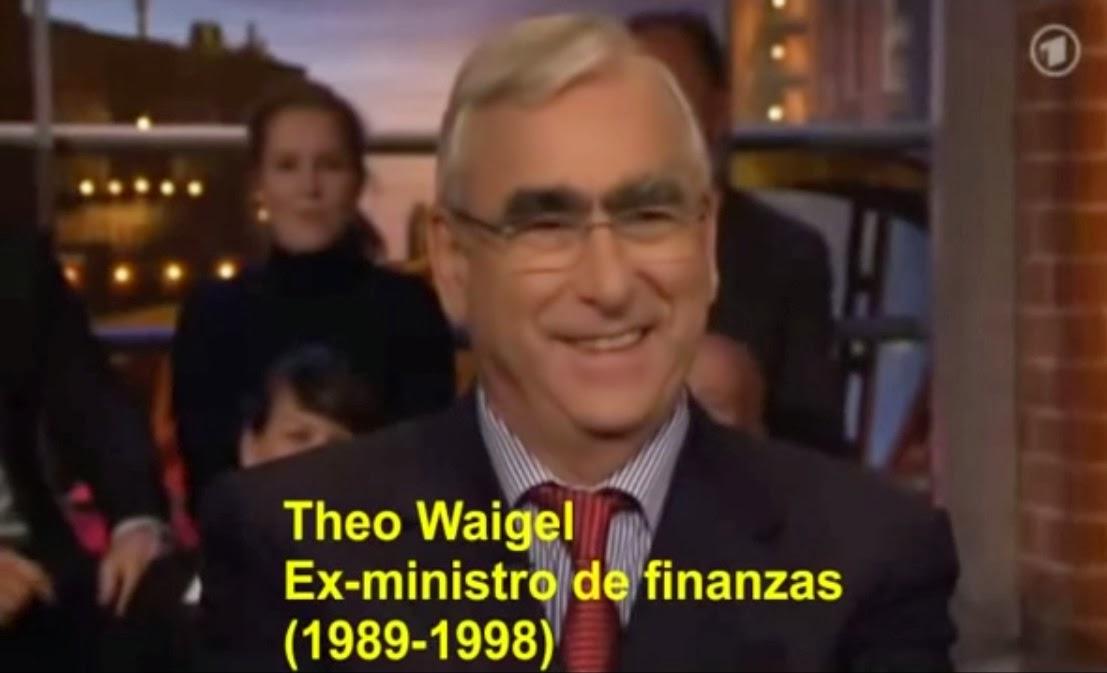 """Theo Waigel el """"PADRE DEL EURO"""""""