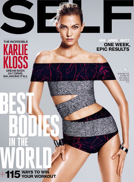 Fashion Model @ Karlie Kloss by Paola Kudacki for Self, August 2015