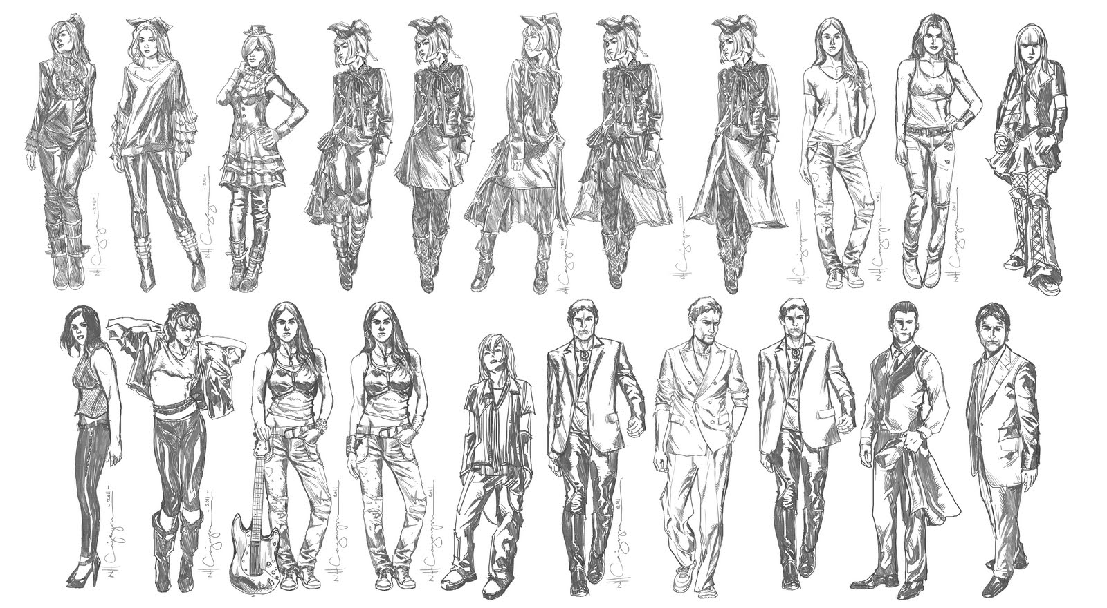 Character Design Art : Nhc art fantasy character design