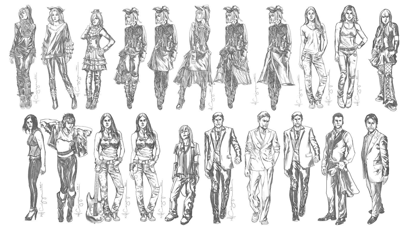 Character Design Artwork : Nhc art fantasy character design