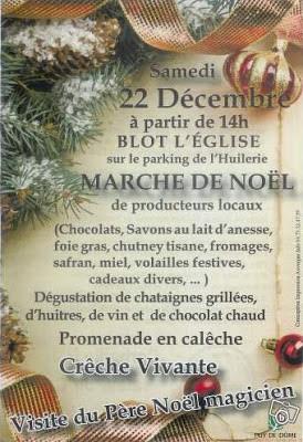 Marché de Noël 2012, Blot l'eglise